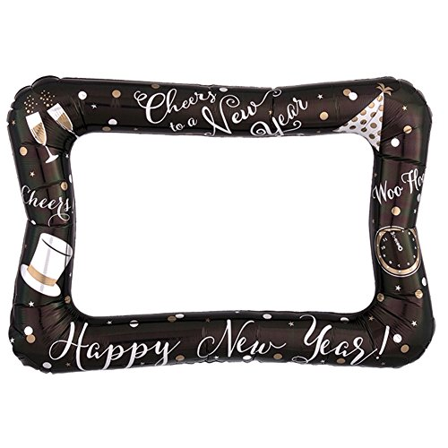 Inflatable Happy New Years Frame Photo - Frame Happy New Year