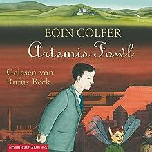 Artemis Fowl (Artemis Fowl 1) Hörbuch von Eoin Colfer Gesprochen von: Rufus Beck