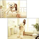 80CM Giant Big Plush Stuffed Teddy Bear Huge Soft 100% Cotton Toy Best Gift