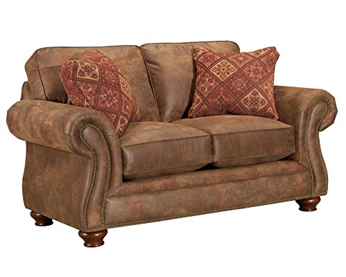 Broyhill Laramie Loveseat, Chocolate For Sale