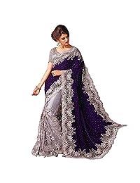 Ethnic Bollywood Indian Saree Party Wear Pakistani Designer Sari Wedding