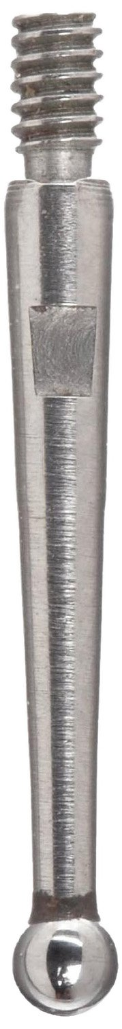 1-5//16 Length Starrett PT23011 Steel Contact Point for Dial Test Indicators with Swivel Heads 0.078 Ball Dia. Inch