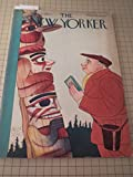 "April 21,1934 The New Yorker Magazine: Indian Totem Pole - William Steig: Small Fry Baseball Cartoon - Emanuel Eisenberg - Robert Benchley - Sideshow People - What Do You Know About Crime? - Current Cinema: ""Viva Villa"" - John O Hara - Books:William Faulkner"