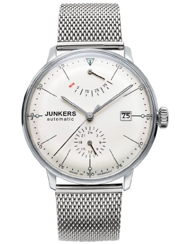 Junkers Bauhaus 6060M-5 Automatic Power Reserve Watch- - Vintage Style