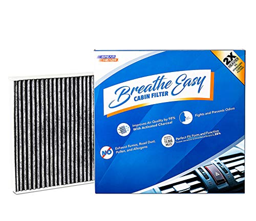 eathe Easy Cabin Filter, Up to 25% Longer Life w/Activated Carbon (BE-176) ()