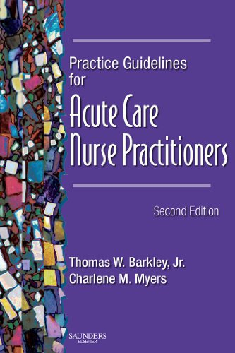 Practice Guidelines for Acute Care Nurse Practitioners Pdf