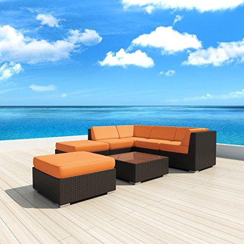Buy Sectional Sofa In Dubai: Luxxella Patio Outdoor Wicker Furniture Sunbrella Genuine