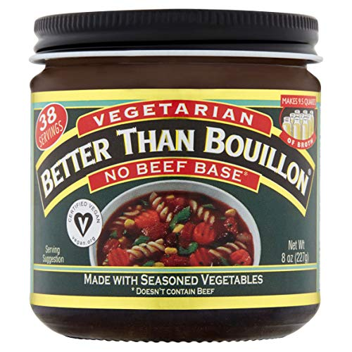 - Better Than Bouillon Vegetarian, No Beef Base, 8 Ounce