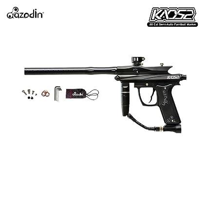 Amazon Com Azodin Kaos 2 Paintball Marker Black Sports Outdoors