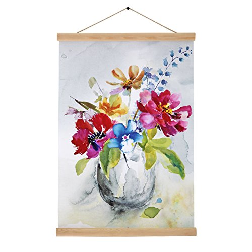 YOSEE Cotton Scroll Flower Painting Home Decor Ready for Han