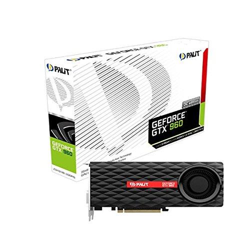 Palit NVIDIA Grafikkarte NE5X 96001041°F gtx9603500MHz 2048MB PCI Express