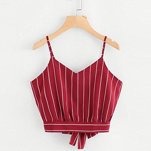 VJGOAL Moda Casual de Verano para Mujer Corbata con Cuello en V ...