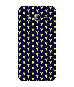 ColorKing Samsung J5 2015 Case Shell Cover - Arrows Multi Color