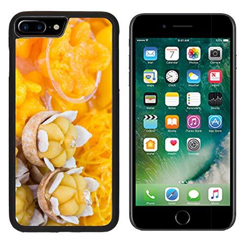 Luxlady Apple iPhone 8 Plus Case Aluminum Backplate Bumper Snap iphone8 Plus Cases Beautiful Traditional Thai Dessert Image ID 26209736