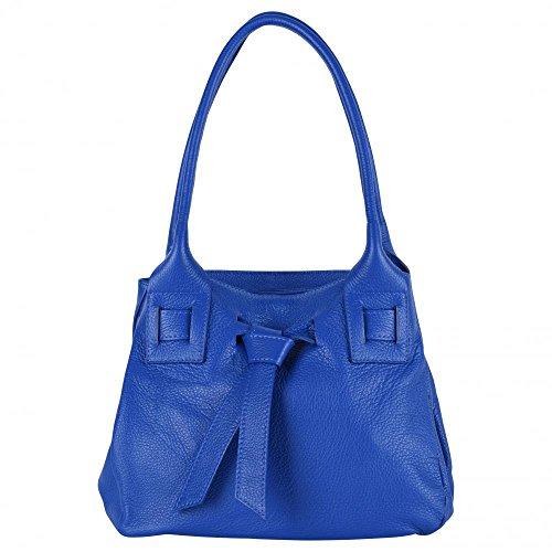 Noody BAG Modèle à Bleu Main MY OH femme Sac Roi CUIR T8A6wS