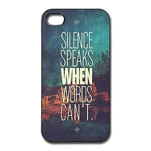 IPhone 4/4s Cases Slice Speaks Design Hard Back Cover Cases Desgined By RRG2G