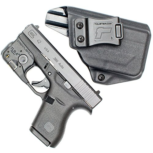 Tulster Glock 42 w/TLR-6 Holster IWB Profile Holster (Black - Right Hand)