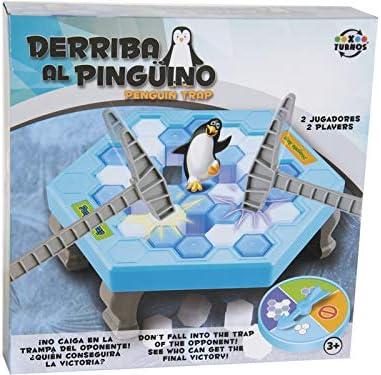 XTURNOS Juego Derriba el Pingüino: Amazon.es: Juguetes y juegos