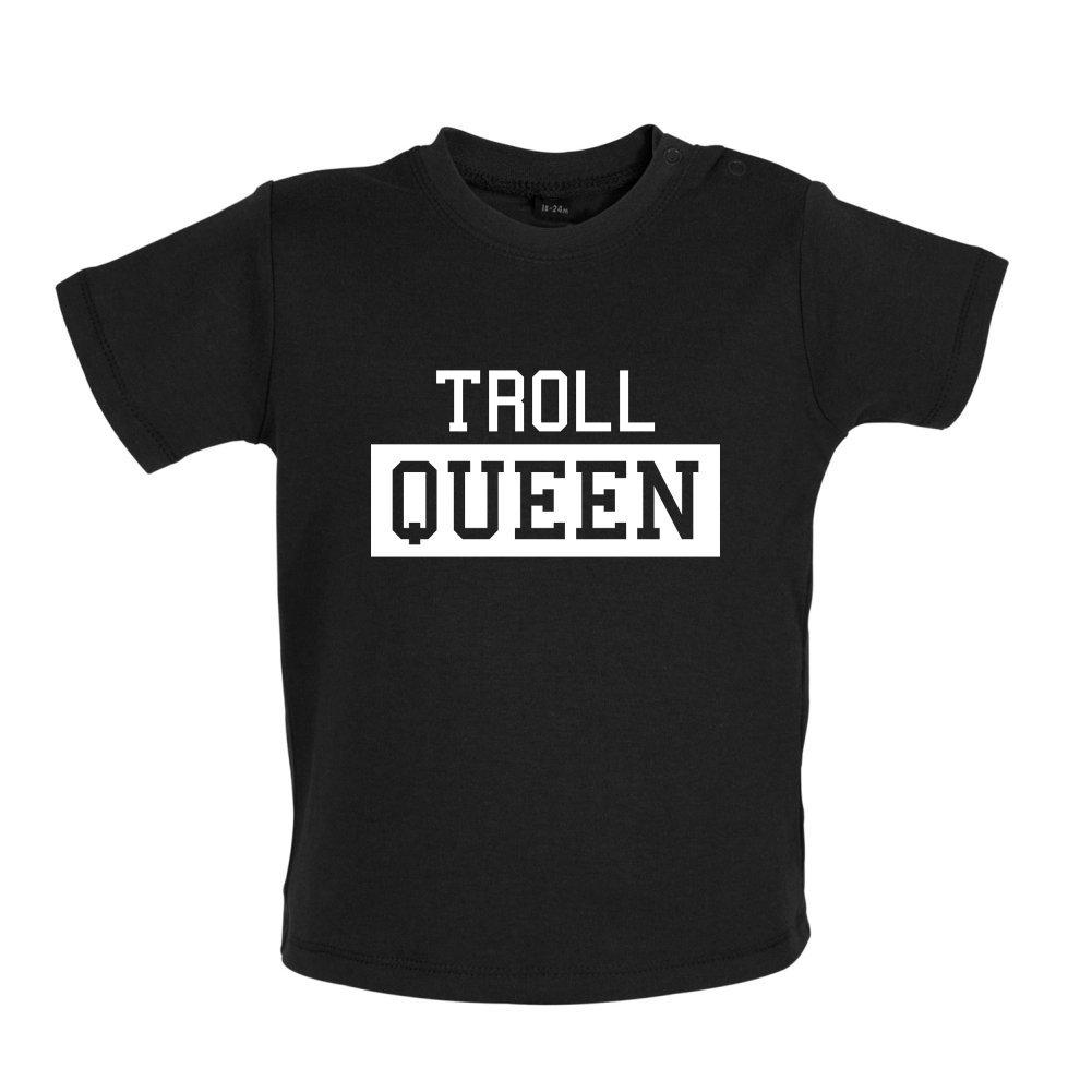 Baby T-Shirt Dressdown Troll Queen 3-24 Months 8 Colours