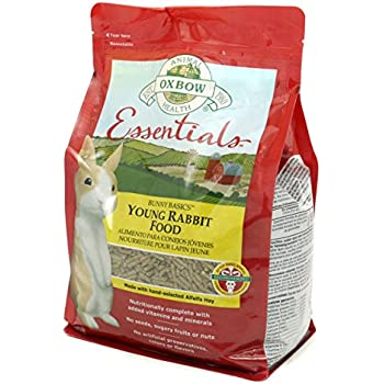 Oxbow Bunny Basics 15/23 (Alfalfa Based), 5-Pound Bag