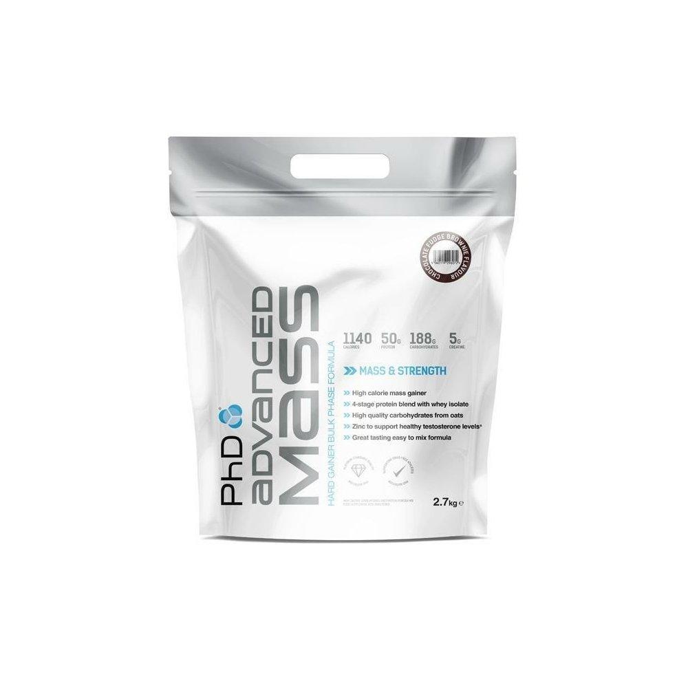 Phd Nutrition Advanced Mass Powder Chocolate Fudge Brownie 27kg Locklock Food Container Classics 34l Hpl848 Health Personal Care