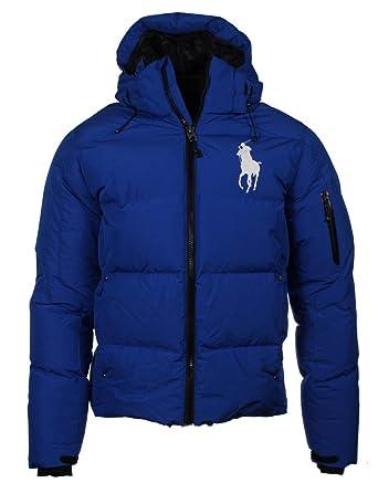watch 81652 9ca68 Ralph Lauren Daunen-Jacke, Big Pony, großes Logo - Navy oder Blau
