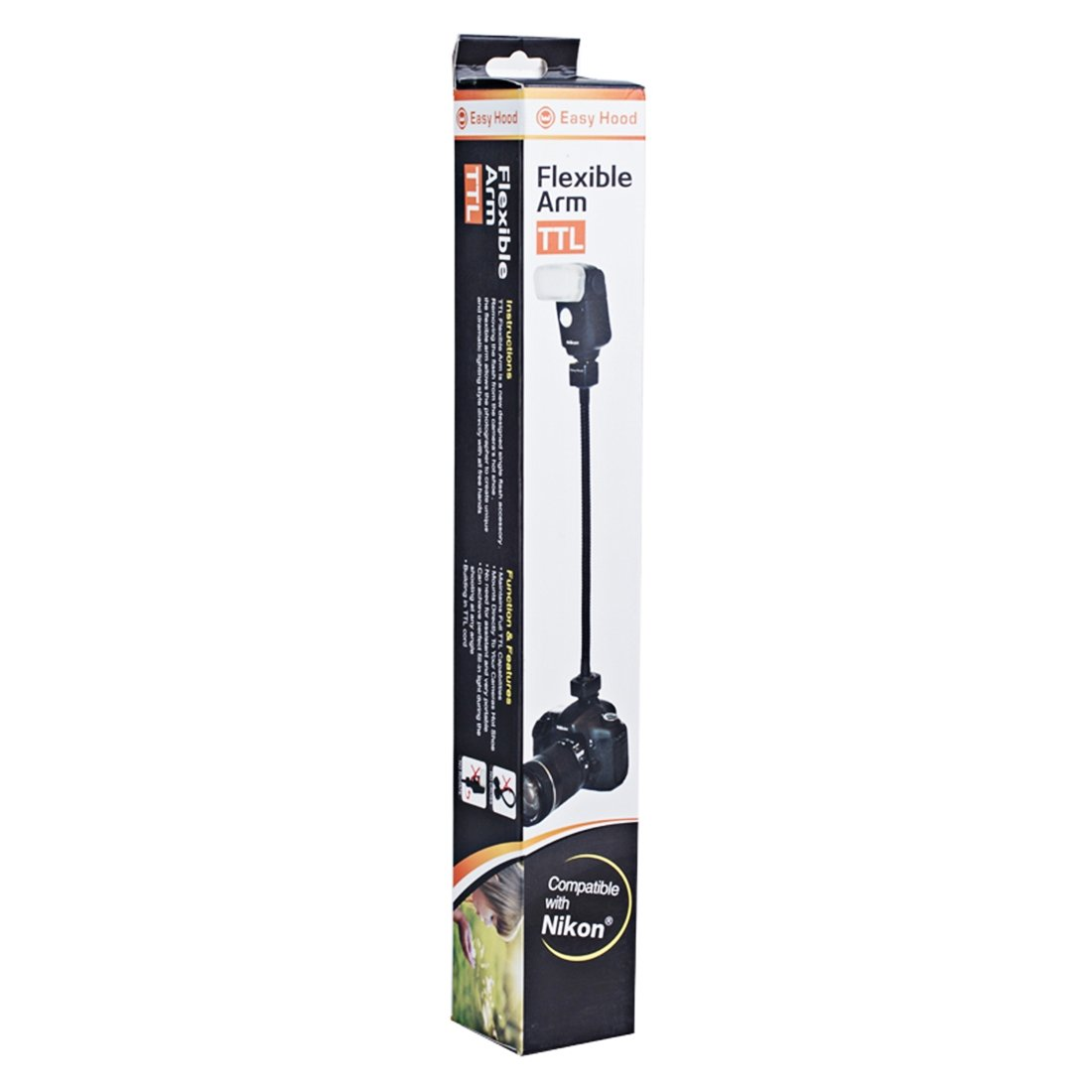 Stand Bracket Stand Bracket Flexible Rotating Arm Flash Light TTL Bracket Hand Grip Holder Mount for Nikon