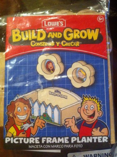 Lowes Build And Grow Picture Frame Planter