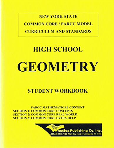 High School Geometry NY State Common Core / PARCC Model Curriculum and Standards