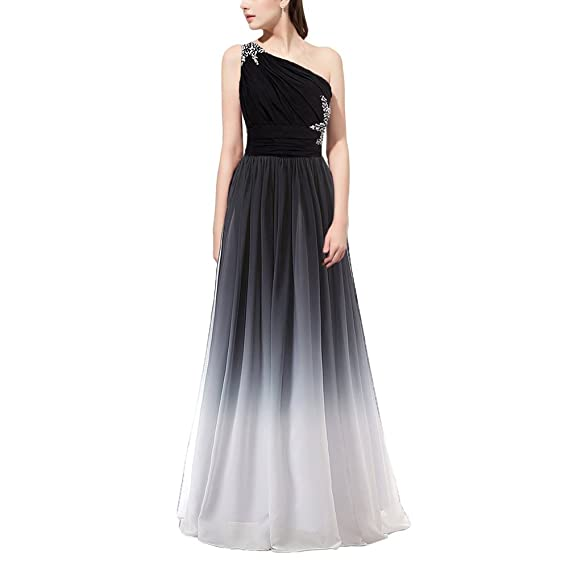 446295245d OBEEII Women Bridesmaid Dress Gradient Color Chiffon Formal Long Dresses  High Waist Ball Gowns for Wedding Cocktail Evening Party Prom Pageant  Ceremony UK ...
