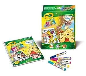 Crayola - Libro para colorear Winnie The Pooh