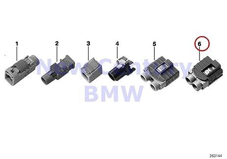 BMW Genuine Repair Parts Coaxial Cable Housing Hf Socket Housing 2 Pol. X1 28i X1