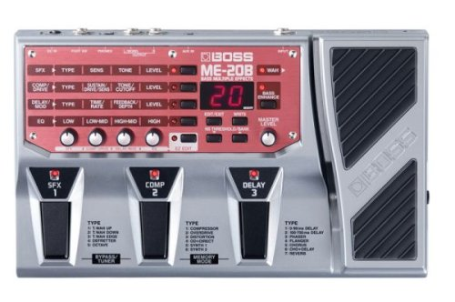 Boss ME-20B Bass Multi-Effects by BOSS Audio