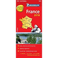 France 2018 - Michelin National Map 721: Map (Michelin National Maps)