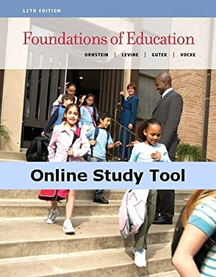 CourseMate (with InfoTrac) for Ornstein/Levine/Gutek/Vocke's Foundations of Education, 12th Edition