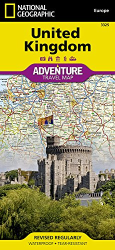 United Kingdom (National Geographic Adventure Map)...