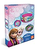 Frozen Paddling Pool or Ball Pool. 3 Ring Anna Elsa Design - Easy to Inflate