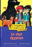 """Afficher """"Les enquêtes de Scarlett et Watson Le chat égyptien"""""""
