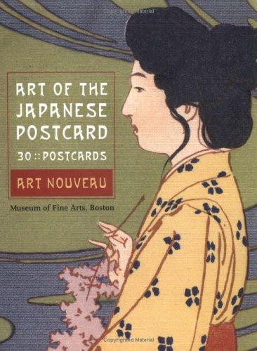 Art of the Japanese Postcard: 30 Art Nouveau Postcards ()