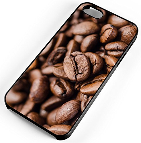 iPhone 6s 6 Case Coffee Beans Drink Brown Roasted Hand Picked Colombia Black Rubber