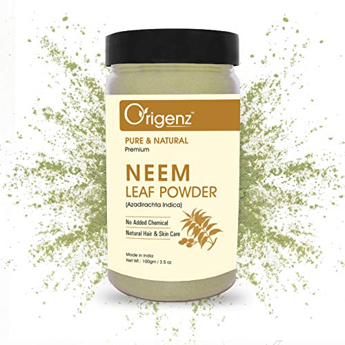 Origenz Premium Neem Leaf Powder for Hair & Skin 100gm (Pack of 1)