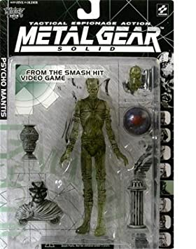 Metal Gear Solid Psycho Mantis (Clear Variant) Action Figure ...