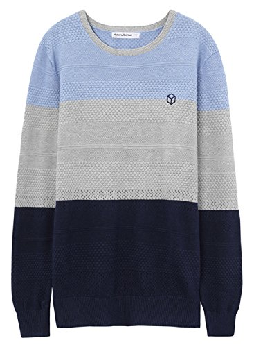meters-bonwe-mens-casual-round-neck-color-block-pullover-knitted-sweater-light-blue-m