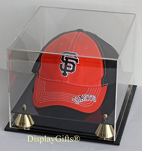 Baseball Cap Hat Display Case Stand, UV Protection, AC-B013