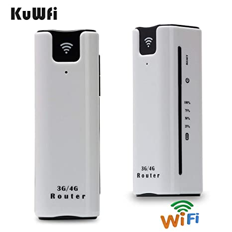 Amazon.com: kuwfi Smart Moblie WiFi 3 G Router con tarjeta ...