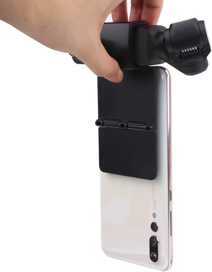 Misszhang-US Suction Cup Phone Bracket Holder Tripod Extension Rod Stick for DJI OSMO Pocket Black
