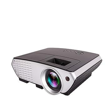 QNJM 1080P HD Proyector Inalámbrico WiFi En Casa Cine En Casa ...