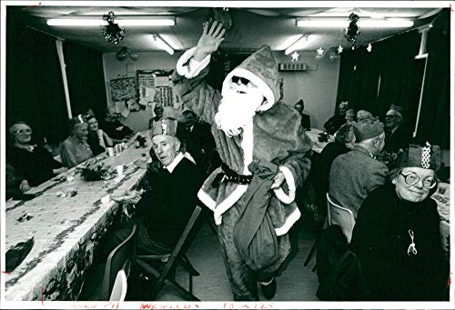 Vintage photo of Christmas Sence -