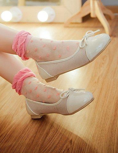 rojo Casual beige redonda negro 5 Flats mujer plano 5 zapatos Beige PDX 7 de de cn37 us6 punta talón 5 uk4 eu37 CWwzOnPFqx