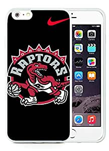 iPhone 6 Plus 5.5 inch Toronto Raptors White Screen TPU Phone Case Newest and Popular Cover